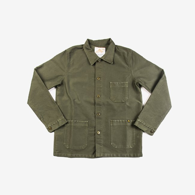 [르 몽생미셸] LE MONT SAINT MICHEL _GENUINE WORK JACKET KHAKI