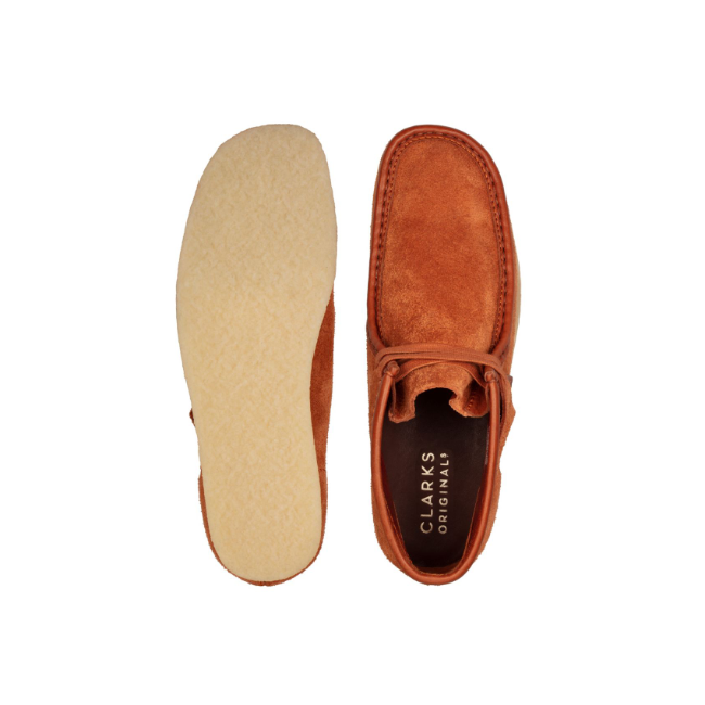[클락스 오리지널]CLARKS ORIGINALS_WALLABEE BOOT tan hairy suede