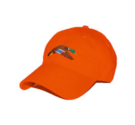[스매더스 앤 브랜슨]SMATHERS AND BRANSON - 청둥오리 오렌지 Mallard Needlepoint Hat [Orange]