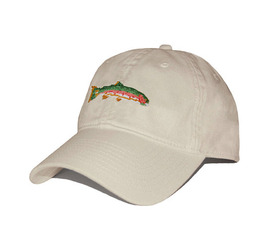 [스매더스 앤 브랜슨]SMATHERS AND BRANSON -송어 스톤 Big Trout Needlepoint Hat [Stone]