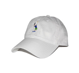 [스매더스 앤 브랜슨]SMATHERS AND BRANSON -테니스 화이트 Tennis Player Needlepoint Hat [White]