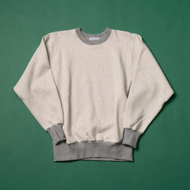 [매니악맨션]MANIAC MANSION_스웻셔츠 오트밀 sweat shirt oatmeal (RESTOCK)
