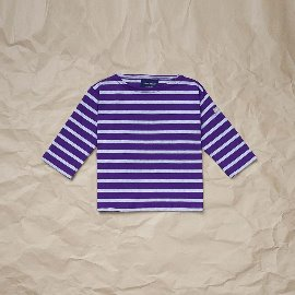 [세인트제임스] SAINT JAMES X CAMEL EXCLUSIVE KIDS Minquiers R E _ 카멜별주 망끼에르 키즈 *2~8세*[PURPLE /ASH GREY ]