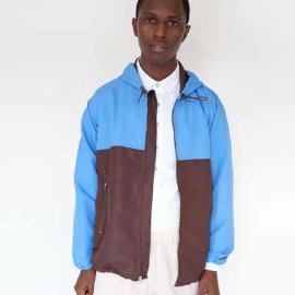 [MAGILL LA]맥길LA_포트 럭키 자켓 FORD LUCKY JACKET_BROWN/BLUE