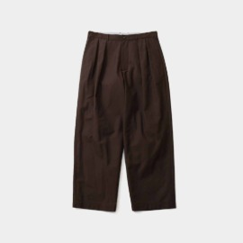 [홀리선]HORLISUN_Corinth Wide Loose Pants Chestnut Brown