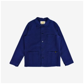 [르 몽생미셸] LE MONT SAINT MICHEL _GENUINE WORK JACKET BLUE