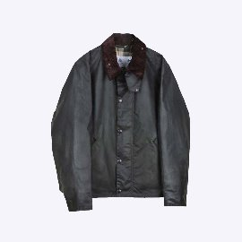 [바버]BARBOUR_WHITE LABEL OS TRANSPORT WAX JACKET SAGE (RESTOCK)