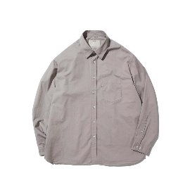 [포터리]POTTERY_COMFORT SHIRT Gray