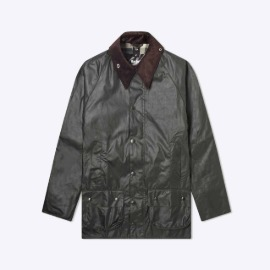 [바버]BARBOUR_WHITE LABEL OS BEAUFORT WAX JACKET SAGE