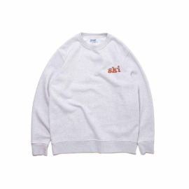 [빅웨이브]BIG WAVE_SKI TOUR PENGUIN SWEAT (1% MELANGE)