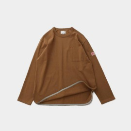 [홀리선]HORLISUN_Emery Long Sleeve Pocket Seasonal T-shirts  Camel