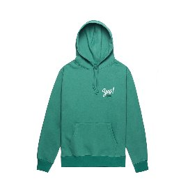 [컴팩트 레코드 바]KOMPAKT RECORD BAR_Yes! Hoodie - Green/White