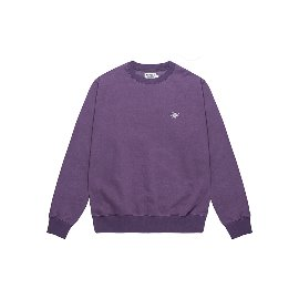 [컴팩트 레코드 바]KOMPAKT RECORD BAR_Every Damn Day Crewneck -  Purple/White