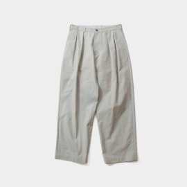 [홀리선]HORLISUN_Corinth Wide Loose Pants Gray Beige
