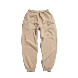 [빅웨이브]BIG WAVE_PARADISE SWEAT PANTS (SAND BEIGE)