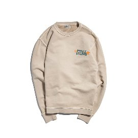 [빅웨이브]BIG WAVE_PEACE BEGINS SWEAT PART.3 (SAND BEIGE)